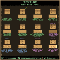 Tutorial - Aged Brick Wall by SadfaceRL