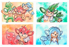 6 Monkeys by Eyeless1703