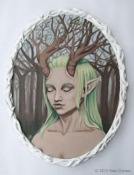 Daughter of the Forest by nelchee