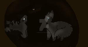 A Dark Cave by Bindiluckycat