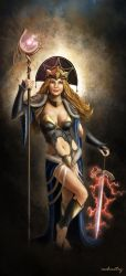 Sorceress by mehmetcy