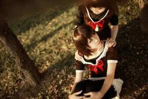 Fatal Frame 2 Crimson Butterfly - Sisters by Sakina666