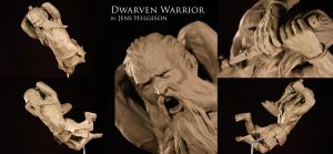 Dwarven Warrior by Helgezone