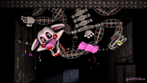 Who could possibly love me like this? (Mangle SFM) by gold94chica