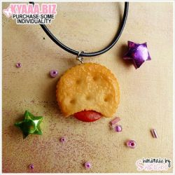 Necklace - Filled Cookie by shiricki