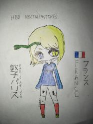 [B'day Gift] Paris Atsuko in World Cup Mood by MrLoncengKelinci