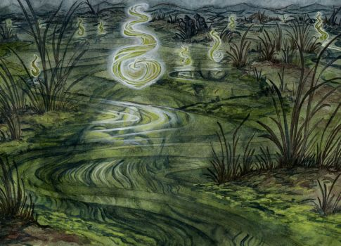 Dead Marshes by RachelQuinlan