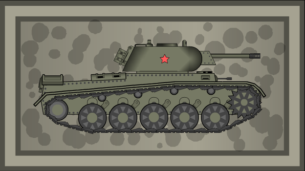 KV-12 mod. 1942 Medium tank by GunFreakFin