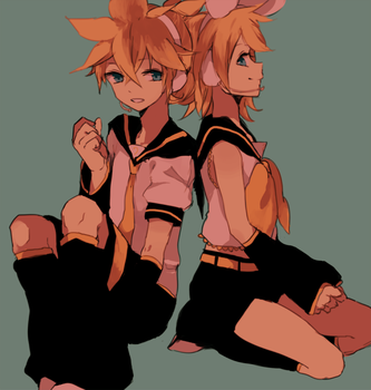 len and rin by tokoco