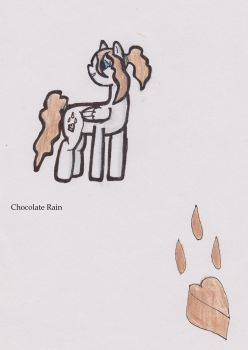 Chocolate Rain by Errand-Girl