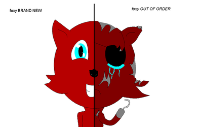 Foxy Before And Now by blazerunner127