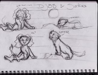 Simba and DJ88 part1 by Kathygirl2