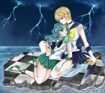 Sailor Uranus and Sailor Neptun by Jenny-Liz