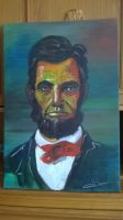 Abraham Lincoln by calinuz