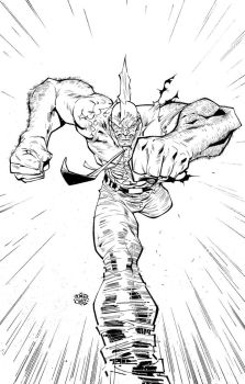 Savage Dragon by rogercruz