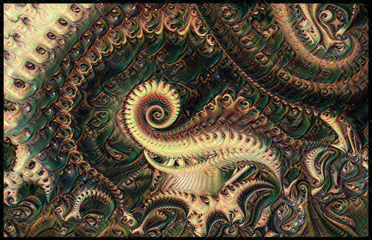 Deep Fractal Dream of the Ego by alahay
