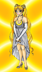 Serenity princess new outfit by MusicAndArtItsMyLife