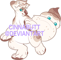 Ghost Marshmallow by Cinnadog