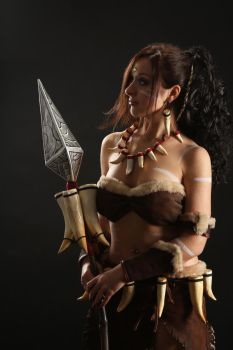 Nidalee Cosplay 9 by IssabelCosplay