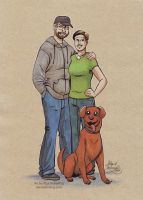 The Smither Family by alex-heberling