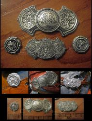 ACR cosplay buckle sets for EziOLD by fevereon