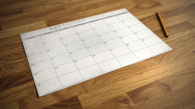 Calendar September 2012 by IanWoods