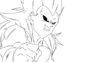 DBUC SS5 Vegeta by darkhawk5