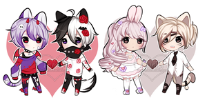+Couple adopts [ CLOSED] (0/2) + Set price+ by Hunibi