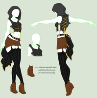 Steam Punk Clothing Adoptable {Sold} by HayleyRoseGirl