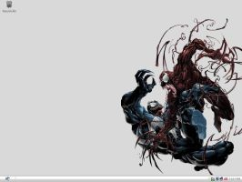 Venom and Carnage by trunxkam45