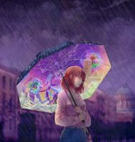 Under rain by WillyWonka2703