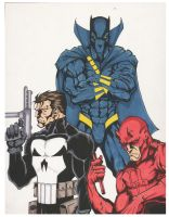 Marvel Knights by filthymcfatten