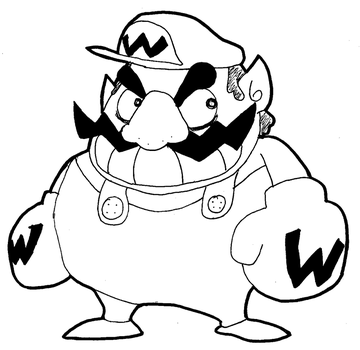 Wario-man by BlackHat0061