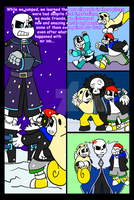 Gamertale: Code surfing and AU jumping pag 50 by zeroa5raven
