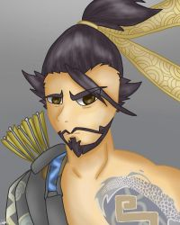 Hanzo by mlppictured