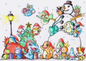 Pokemon Starter Christmas!