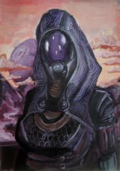 Tali'Zorah by Sunset7