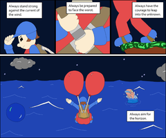 The Moral of Balloon Fight by glsnifit
