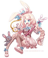 Magical Girl Mimi and Vampire Bunny by PixiTales