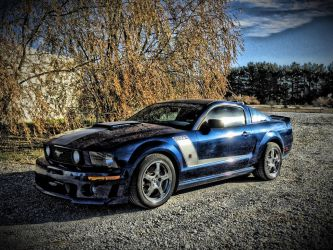 427r Mustang Roush 2007 HDR by AthenaIce