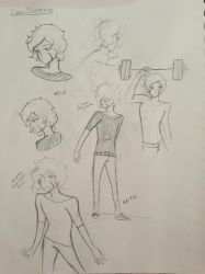 Liam Sketchies  by Ailizerbee08