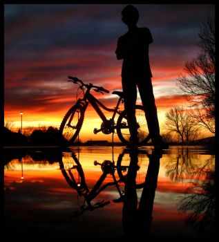 A Boy and His Bike by FramedByNature