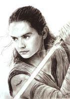 The Last Jedi - Rey by INH99