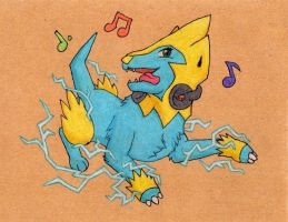 Manectric used Dance!
