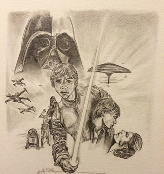 Star Wars Episode V:The Empire Strikes Back Poster by scarletwilight