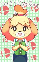 Isabelle in Smash by Mariamagic59