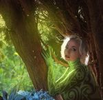 The Green Woman. by hybridgothica
