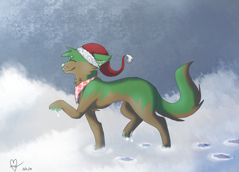 Christmas cheer grab a beer by TheAjerf