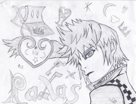 Roxas by williamsoraritter