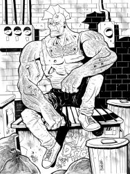SAVAGE DRAGON Commission by JakeSmithArt